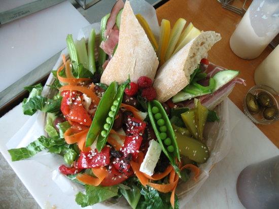 Cafe Chez Sam : Mangez santé !