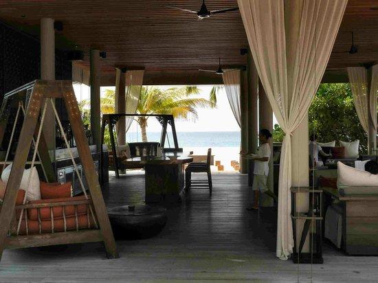 Park Hyatt Maldives Hadahaa: Bar