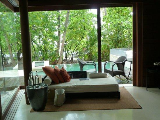 Park Hyatt Maldives Hadahaa: View from villa