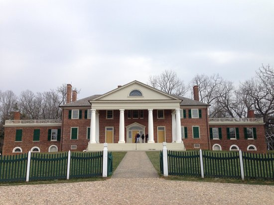 James Madison's Montpelier: Montpelier - front facade