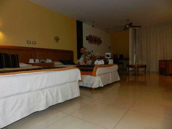 Grand Sirenis Riviera Maya Resort & Spa: la habitación