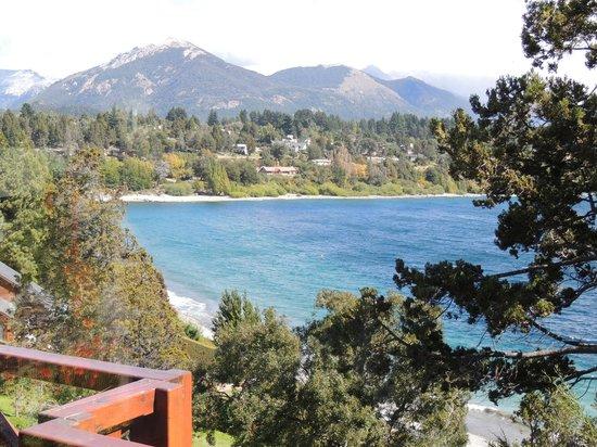 Charming - Luxury Lodge & Private Spa: As águas do Lago Nahuel Huapi, cristalinas...