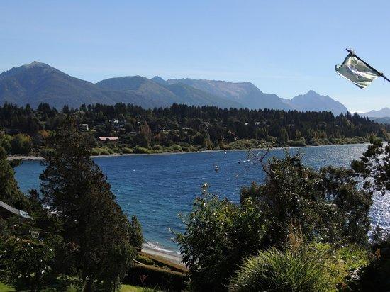 Charming - Luxury Lodge & Private Spa : Vista do Lago.