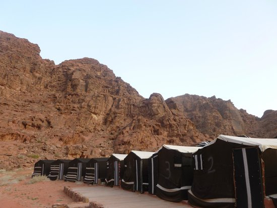 Classic Wadi Rum Tours - Private Day Tours: Bedouin camp site where we stayed