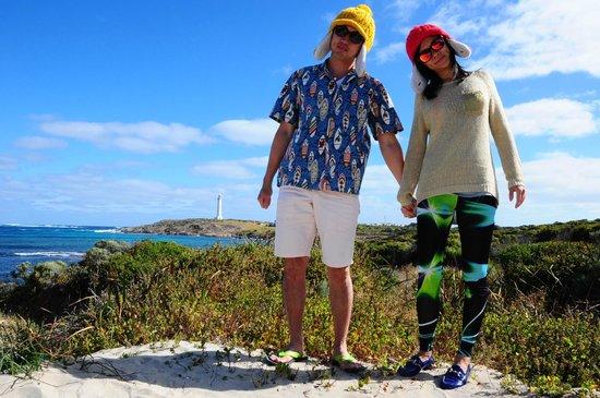 Cape Leeuwin Lighthouse: Our signature pose