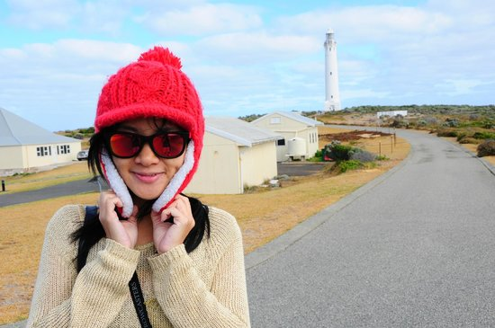 Cape Leeuwin Lighthouse: Old houses of the lighthouse keepers