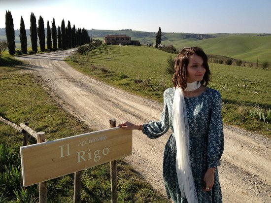Agriturismo Il Rigo: Подъезд к отелю