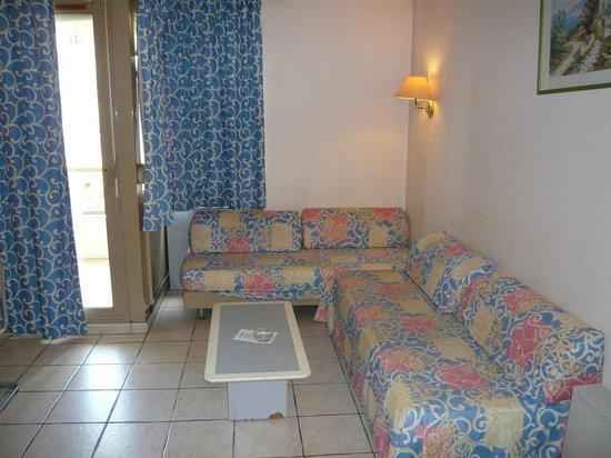 Residence Couleurs Soleil: séjour et couchages studio 4