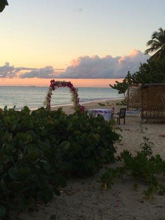 Keyonna Beach Resort Antigua: someone got married!