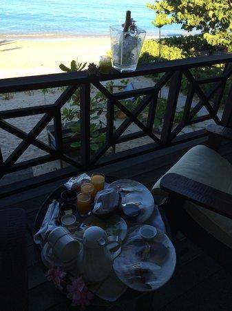 Keyonna Beach Resort Antigua: the porch