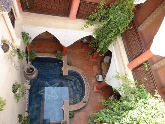 Riad Plein Sud : View from top room
