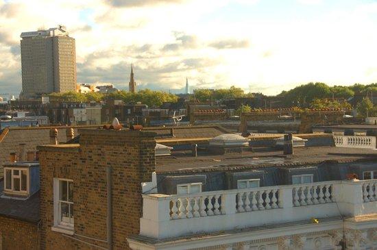 K+K Hotel George: Tetti londinesi