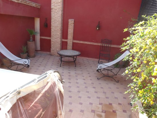 Riad Plein Sud : Roof top terrace
