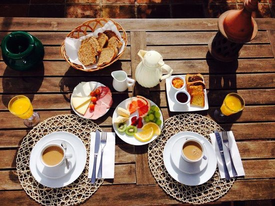 Hotel  Alavera de los Baños: Desayuno