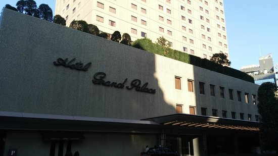 Hotel Grand Palace: 入口
