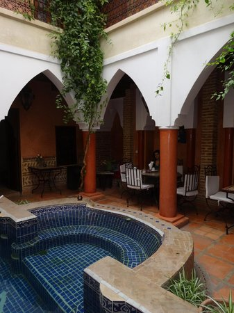Riad Plein Sud : Ground floor main area