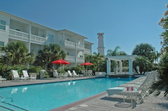 Lighthouse Inn at Aransas Bay: Jr Olympic size pool