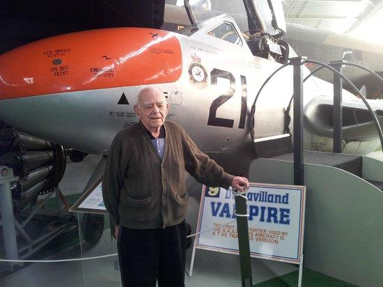 Aviation Heritage Museum: Dehavilland Vampire