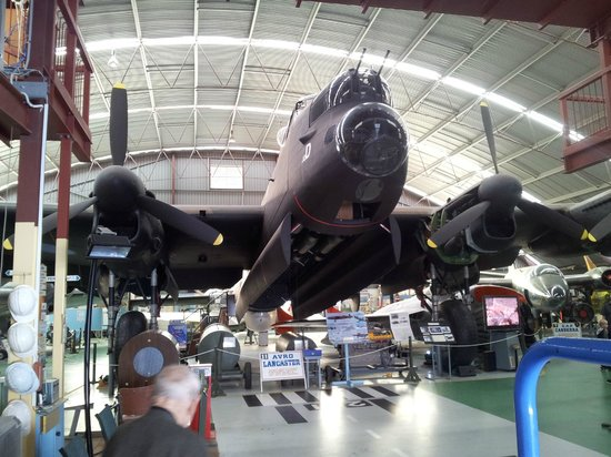 Aviation Heritage Museum : Lancaster Bomber
