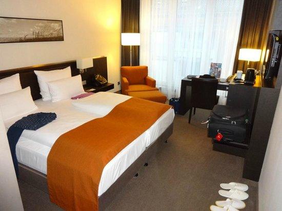 Atlantic Hotel Lubeck: Zimmeransicht