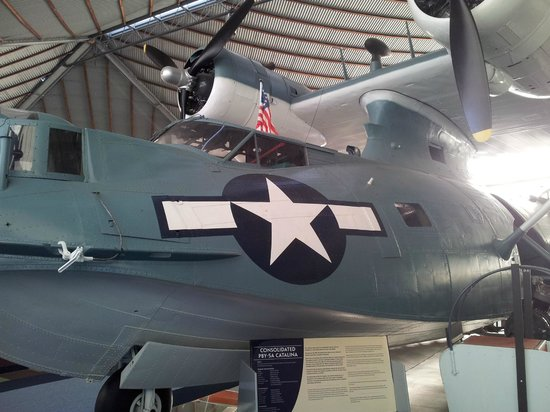 Aviation Heritage Museum : Catalina flying boat