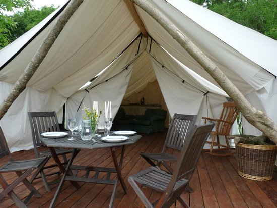 Safari Glamping: Veranda - safari in Dorset