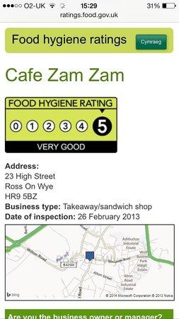 Cafe Zam Zam: 5 star