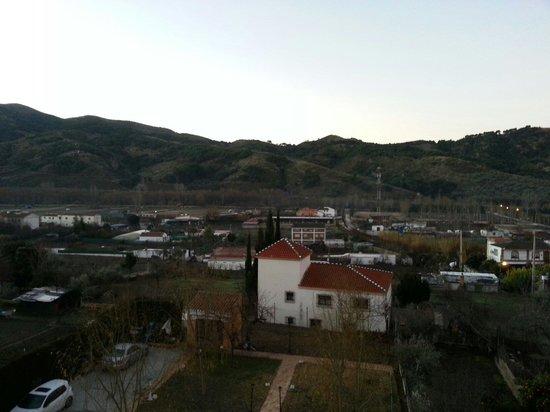 Calderon: Vista desde una de las habitaciones