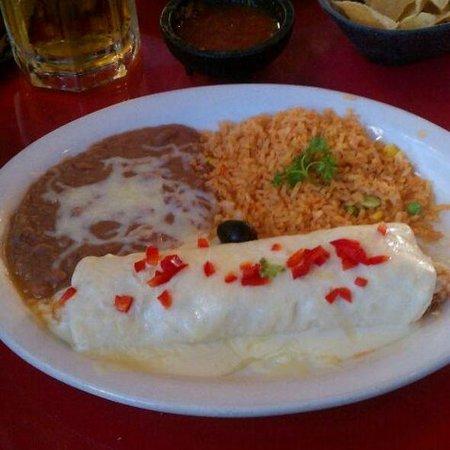 Mariasol Cocina Mexicana: Burrito de frutos do mar