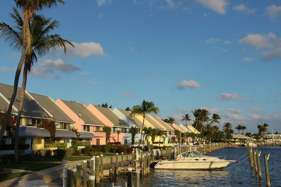Treasure Cay Beach, Marina & Golf Resort: 1, 2 or 3 Bedroom Harborview or waterfront Mariner Condo with private slip & Sunset Patio Deck