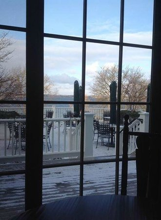 E.B. Morgan House: View for the dining room at the Aurora Inn