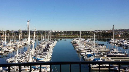 The Sheraton San Diego Hotel & Marina: Harbour View