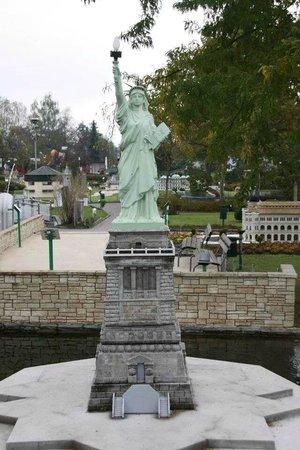 Minimundus: Statue of Liberty, USA