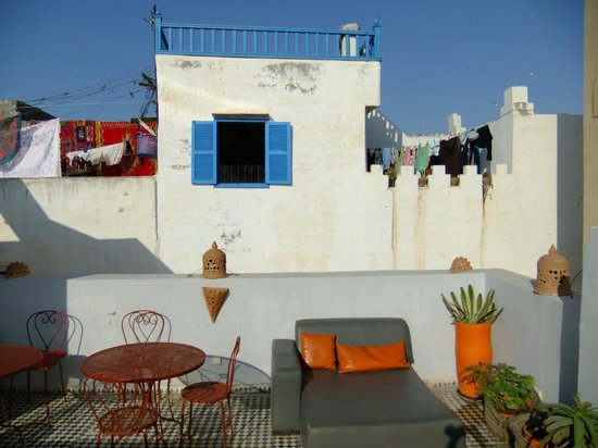 Riad Orange Cannelle : Dachterrasse