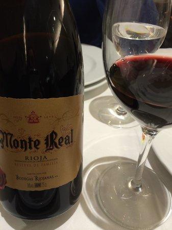 La Bombi: Monte Real, reserva de familia, recomendado e impresionante.