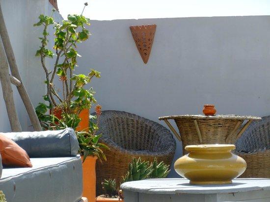 Riad Orange Cannelle : Dachterrasse