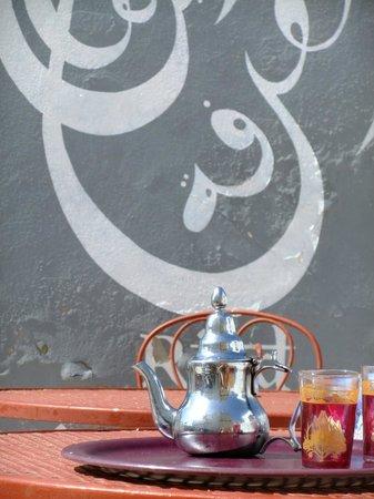 Riad Orange Cannelle : Minztee