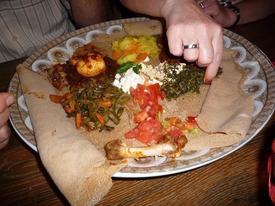 Restaurant Fasika: war lecker