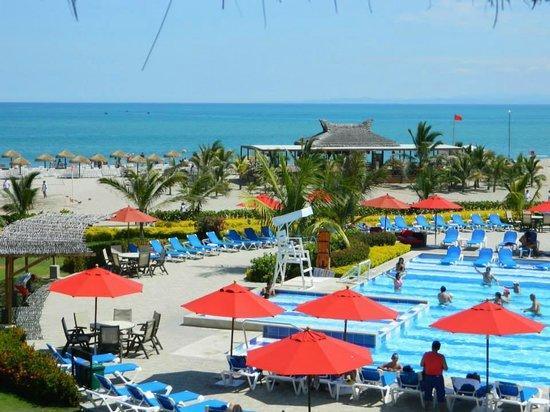 Royal Decameron Punta Centinela: Pileta Tropical, Playa y Bar de Playa