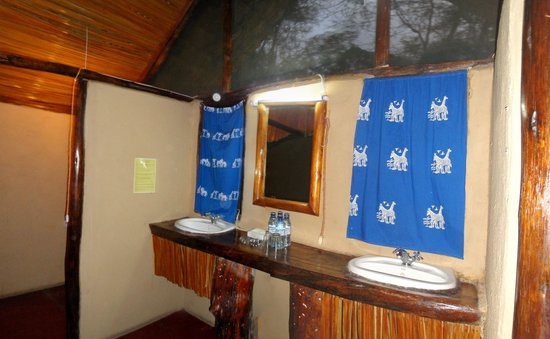 Migunga Tented Camp bagno in tenda
