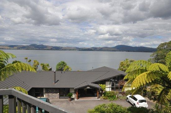 Koura Lodge : la vue de la terasse