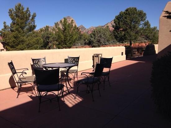 Best Western Plus Inn of Sedona : balcony with view