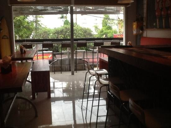 Pizza Club Sanur: upstairs