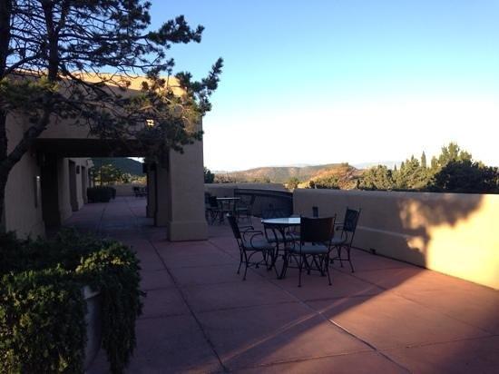 Best Western Plus Inn of Sedona : shared balcony