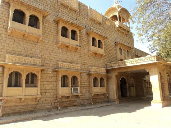 Hotel Moomal : Entrance