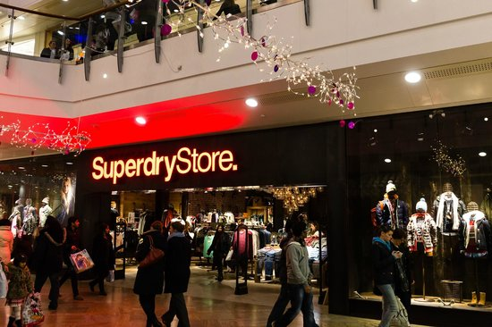 The Oracle: Superdry on The Lower Mall