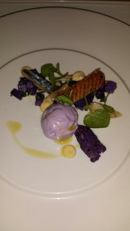 The Hare and Hounds Hotel: Smoked eel, amazing