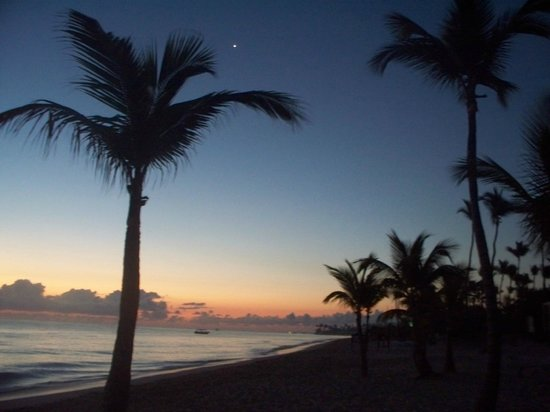 Hotel Riu Palace Bavaro: sunrise with mars or venice