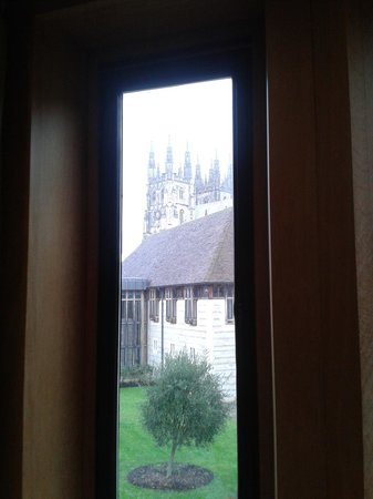 Canterbury Cathedral Lodge: Fantastic view