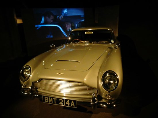 The London Film Museum - Covent Garden: aston martin db5